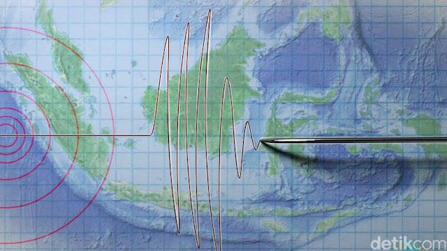 Gempa 4,2 SR Terjadi di Lombok Timur NTB