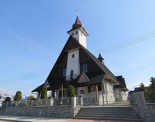 Kościół pw. św. Wojciecha Biskupa i Męczennika w Zaskalu.