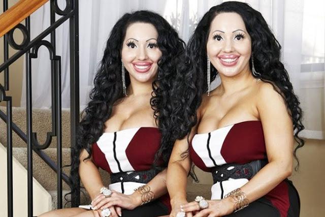 Эти близняшки потратили более $250 000 на пластику, но они все равно недовольны своей внешностью