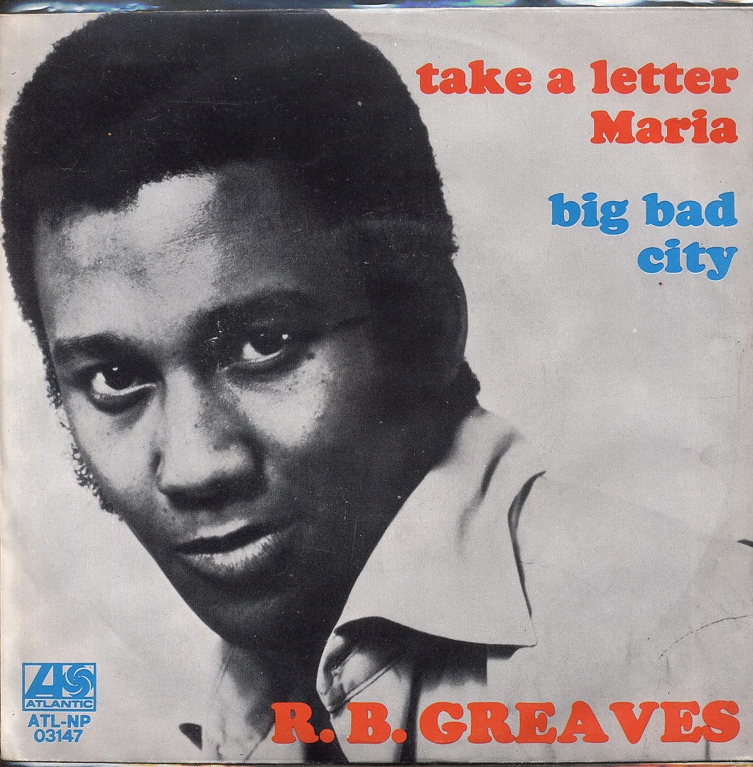 take a letter maria world o heathcliff rip r b greaves 11482 | rb greaves