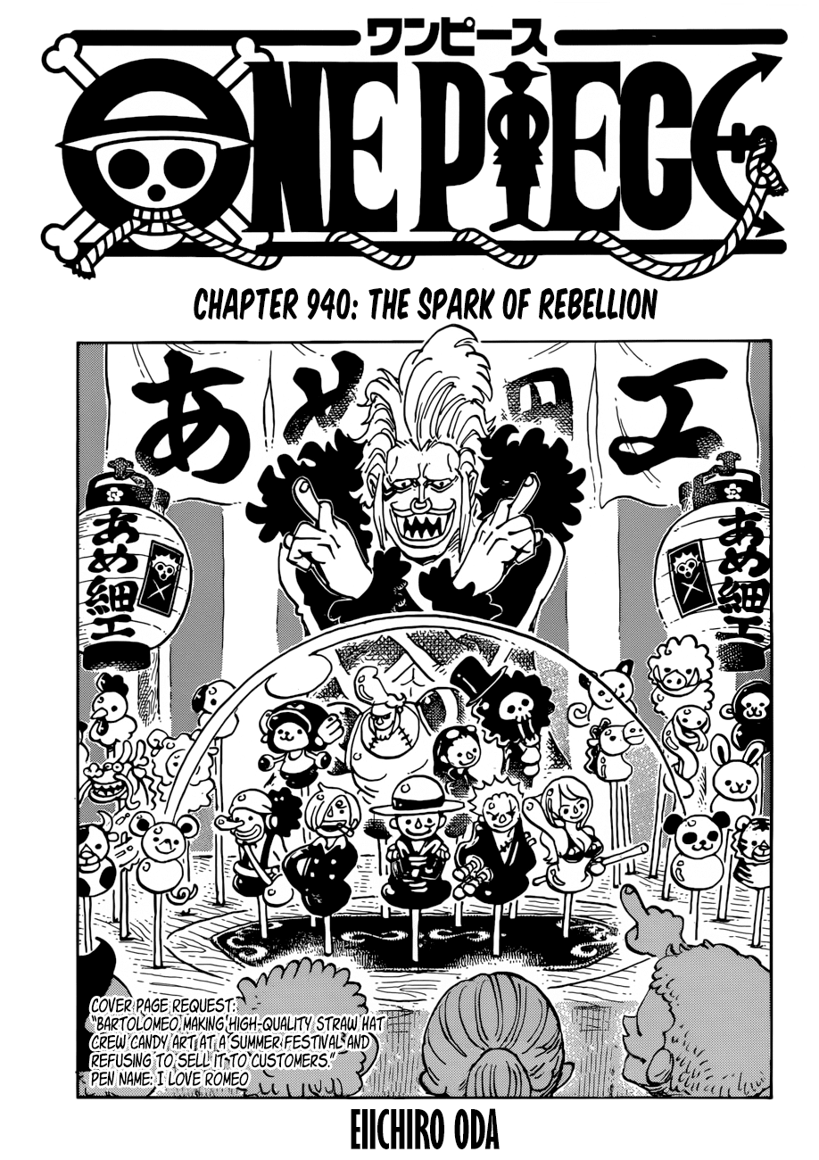 Manga one piece chapter 940 bahasa inggris fakta one piece