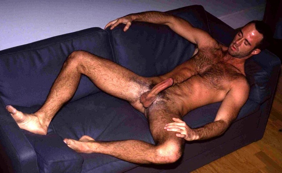 Beautiful naked men with hairy legs