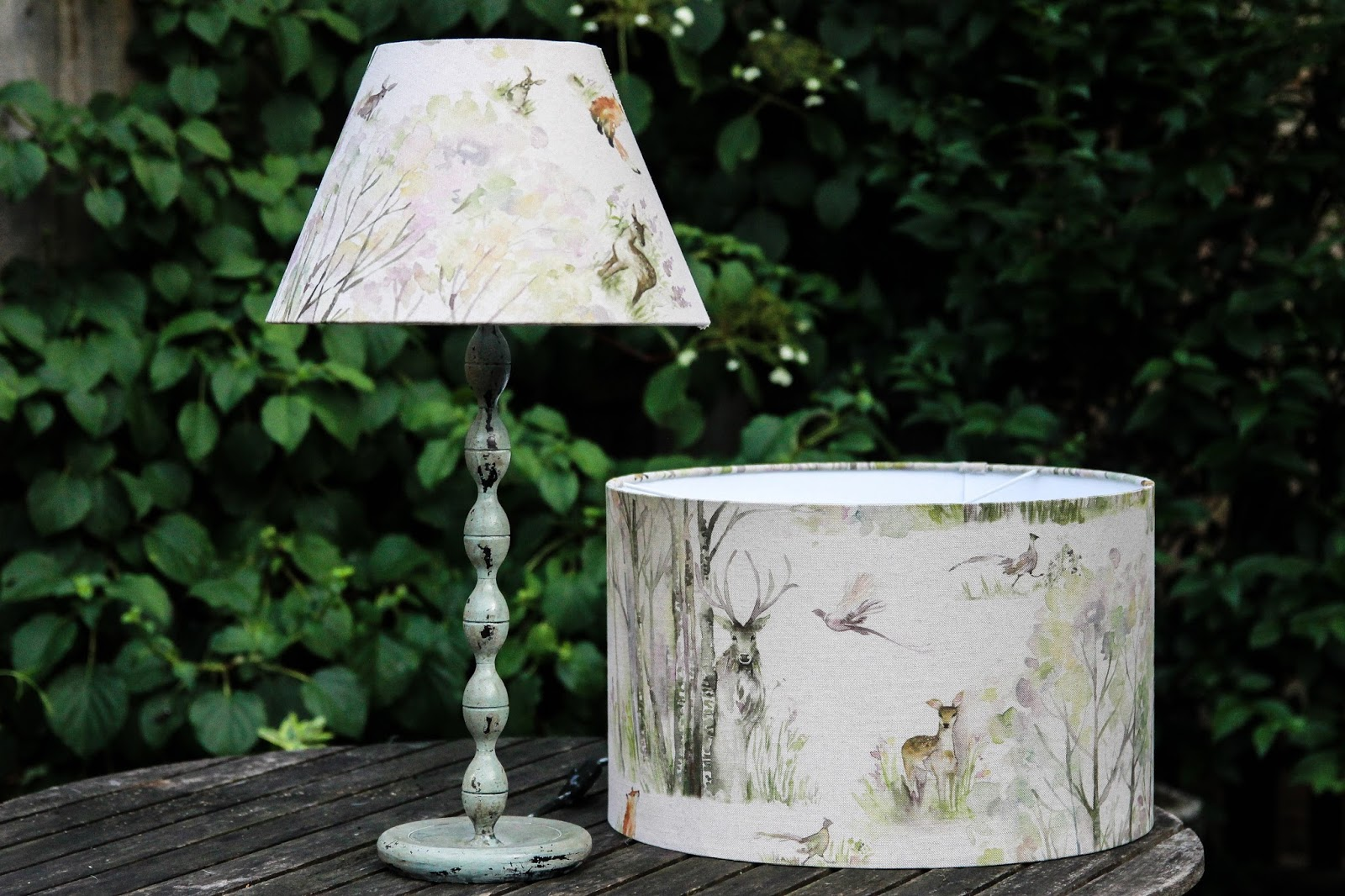 a handmade cottage how to make your own lampshade. Black Bedroom Furniture Sets. Home Design Ideas