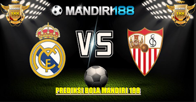 AGEN BOLA - Prediksi Real Madrid vs Sevilla 15 Mei 2017