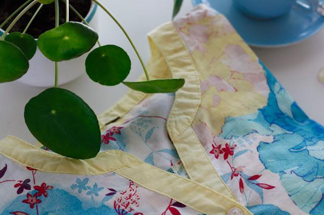 ohje paidan hihojen leventämiseen