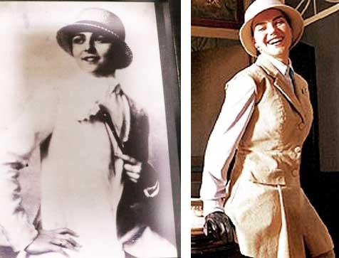 Yolanda Penteado real e Ana Paula Arósio
