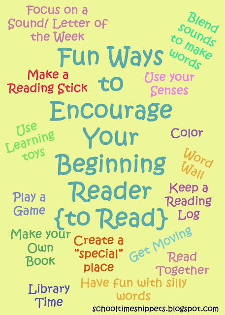 tips to encourage beginning reader