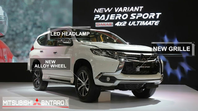All New Pajero Sport Dakar 4x2 Ultimate