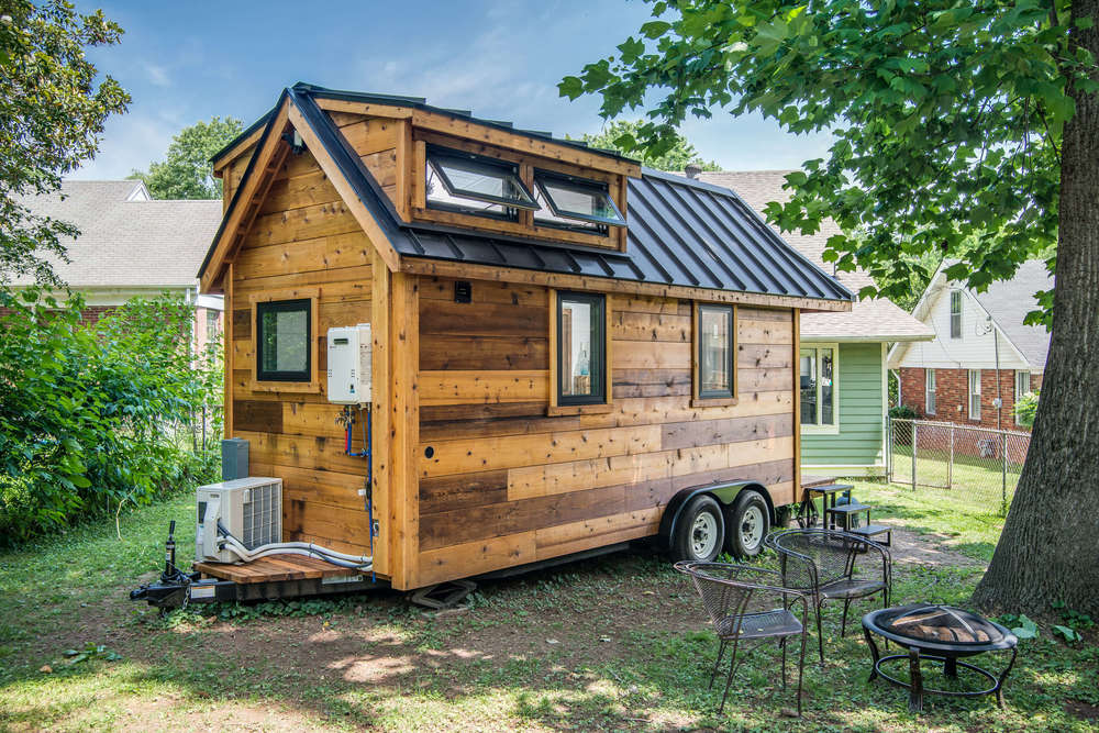 Tiny House Town The Cedar Mountain From New Frontier Tiny