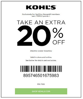 Kohls coupon codes 2018