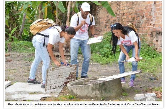 Alagoas: Plano de ação de combate ao Aedes aegypti continua a partir de segunda-feira (7)
