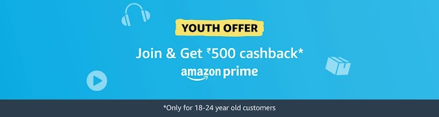 Amazon Prime Membership Offers| Free Trial & Youth Offer| Free Prime for Airtel & Vodafone Users
