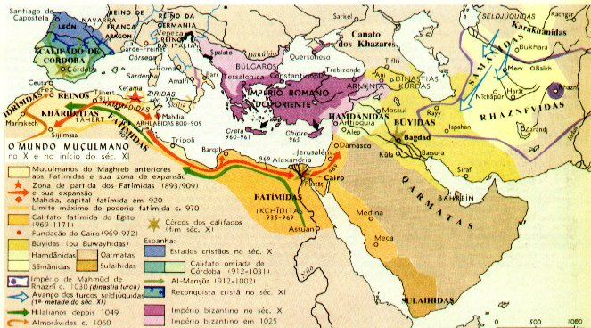 Império Árabe (630-1258)