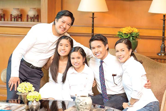 Grace Poe family