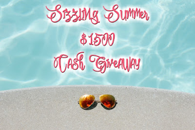 Enter the Summer Sizzling $1500 Giveaway. Ends 6/30 Open WW.