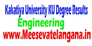 Telangana Kakatiya University KU Engineering Results Download