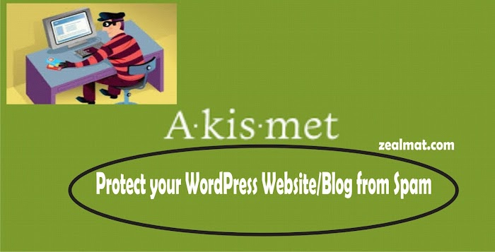 Protect Your Wordpress Blogs Or Websites From Spam