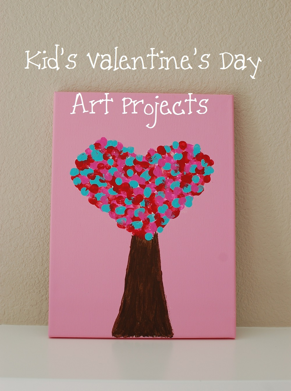 Kid's Valentine's Day Art Projects