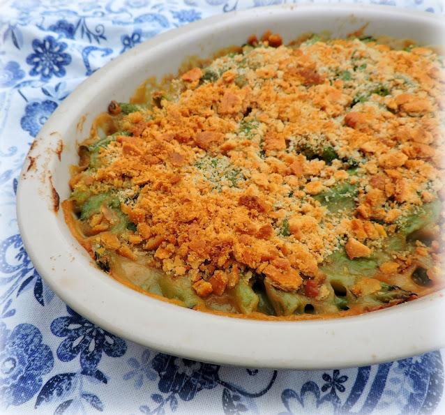 A Lighter Green Bean Casserole