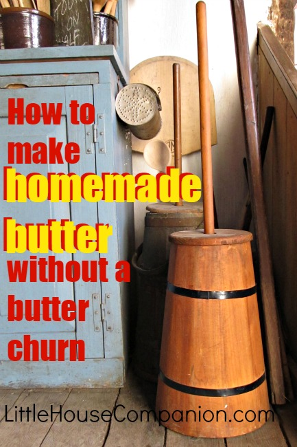 how to make butter the easy way