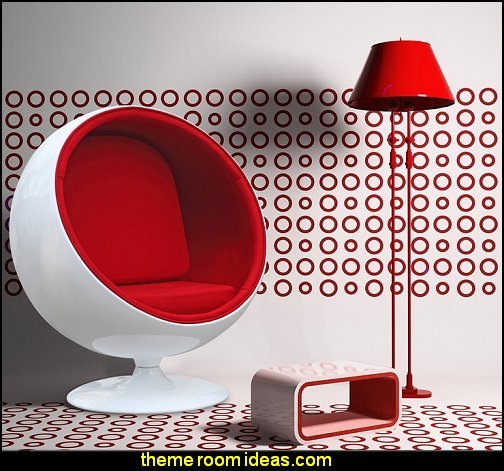 Aarnio  BALL CHAIR  mod retro home decor  mid century modern bedroom
