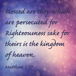 Image result for Matthew 5:10