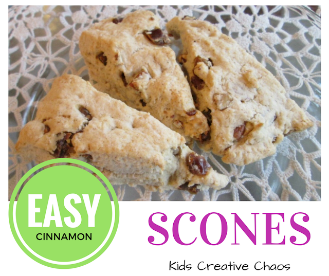 Easy Cinnamon Scones Recipe