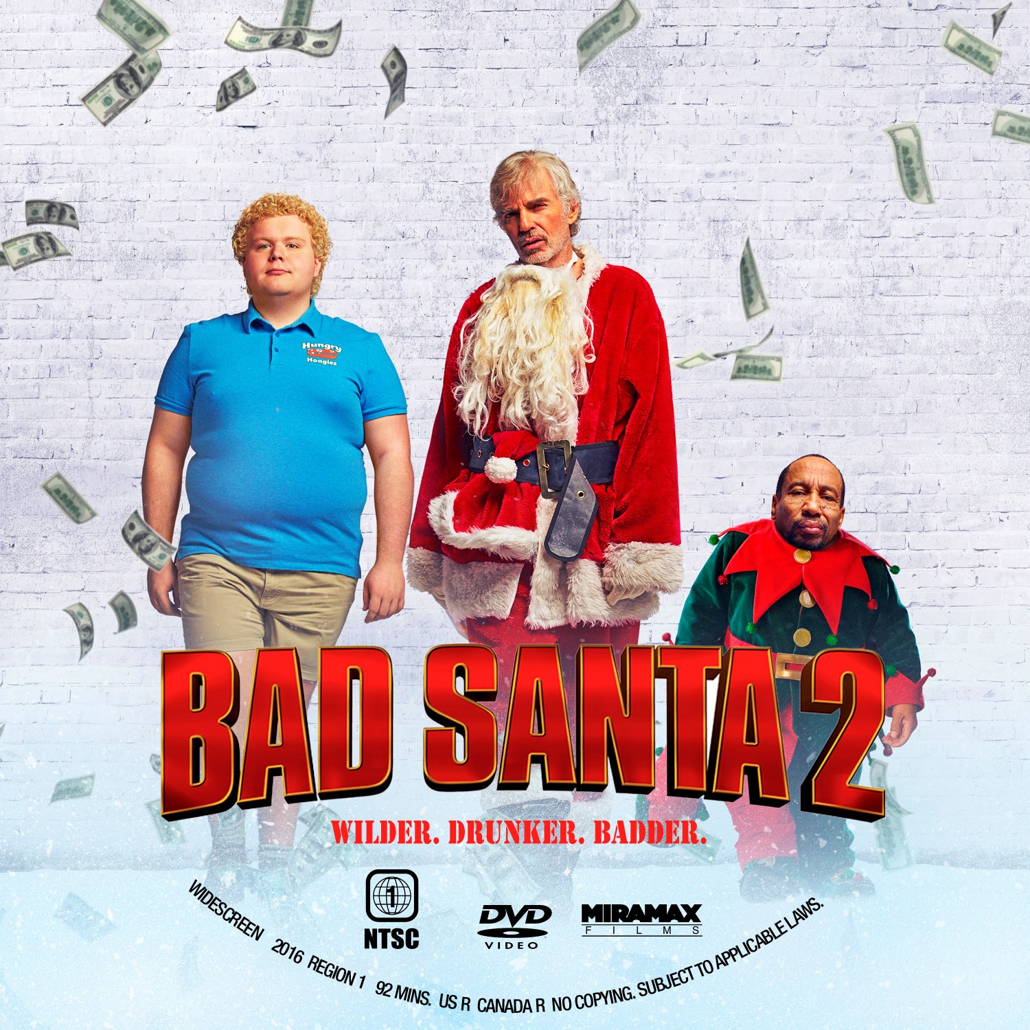 Bad Santa 2 Dvd Label Cover Addict Free Dvd Bluray Covers And Movie Posters