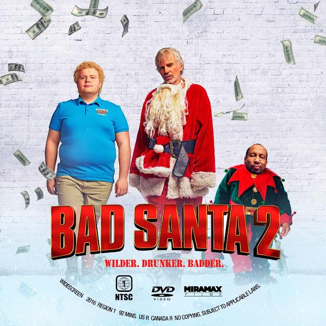 Bad Santa 2 DVD Label