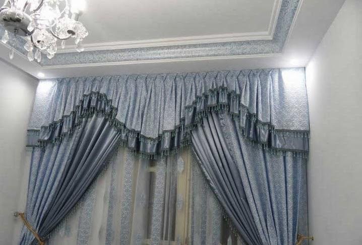 d coration de salon marocain rideaux occultant pour salon. Black Bedroom Furniture Sets. Home Design Ideas