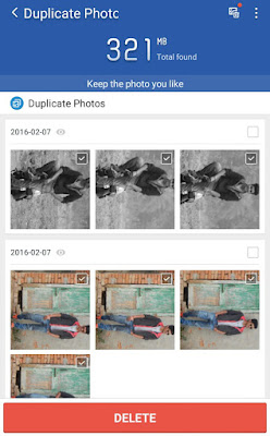 Select and Delete Duplicate Photos