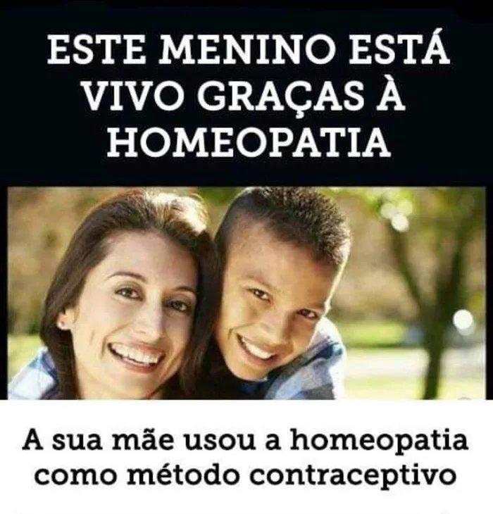 Uma vida salva pela homeopatia