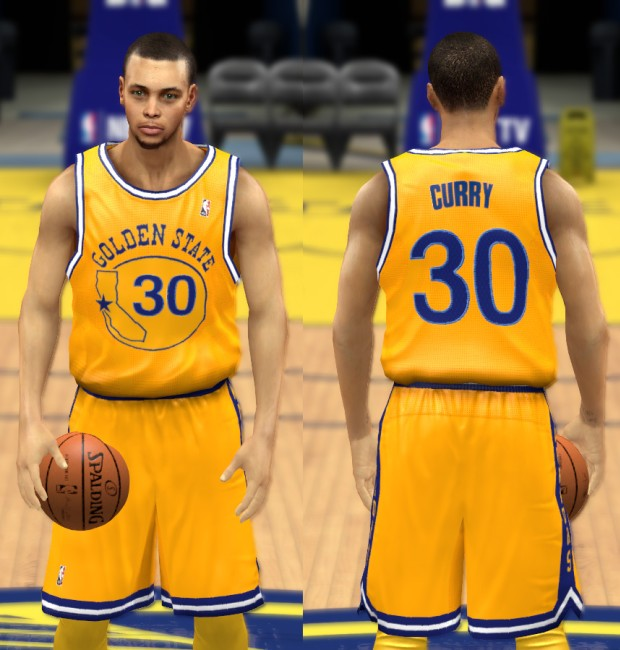 Golden State Gold Home Jersey