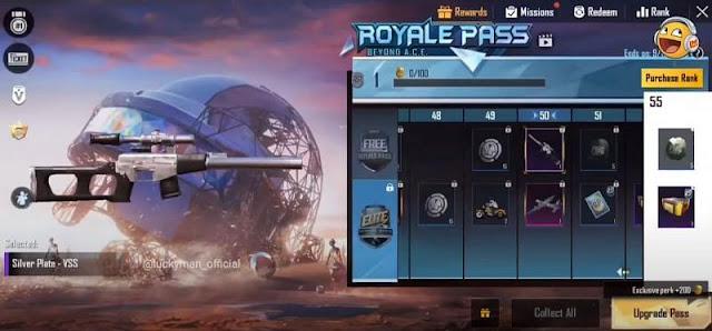 PUBG Mobile Sezon 15 ücretsiz Royale Pass ödülleri