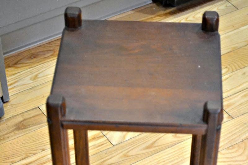 Grandma's Chippy Little Table
