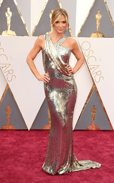 Top 5 das mais vestidas  Óscares 2016 Debbie Matenopoulos