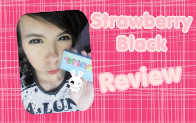 Review ~ Strawberry Black Cirlce lenses