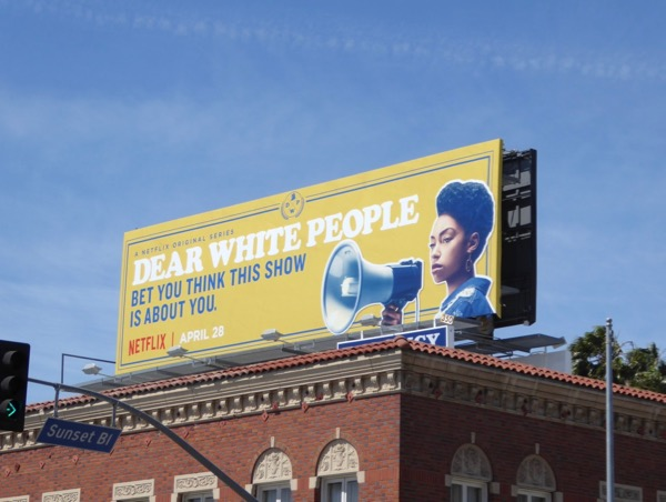Dear White People Netflix series billboard
