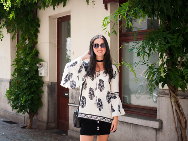 Outfit: Bell Sleeve Boho