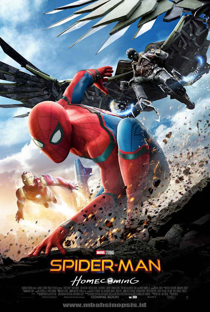 Download Film Spider-Man : Homecoming (2017) Bluray Subtitle Indonesia 360p, 480p, 720p