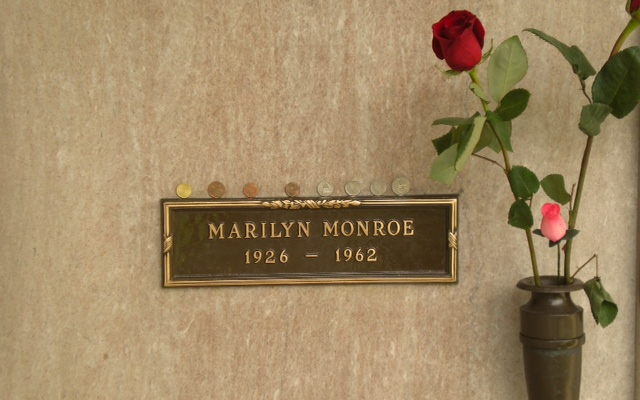Marilyn Monroe Westwood Memorial de Los Angeles