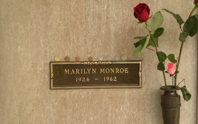 Marilyn Monroe Westwood Memorial de Los Angeles