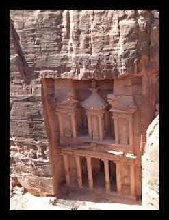 Petra na Jordania - Preciso Viajar