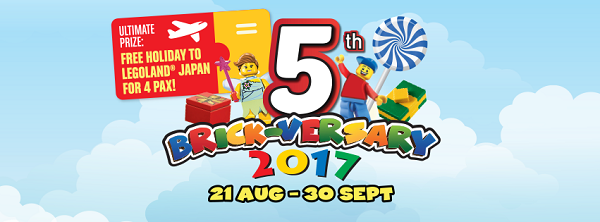 MEDIA RELEASE | LEGOLAND® MALAYSIA RESORT CELEBRATES FIVE YEARS OF AWESOME FAMILY TIME