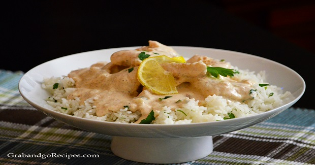 Fish Fillet With Creamy White Sauce Recipe