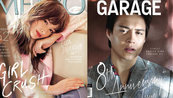 Liza Soberano and Enrique Gil grace top mag covers this August