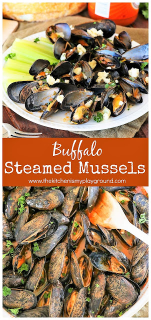 Buffalo Steamed Mussels image