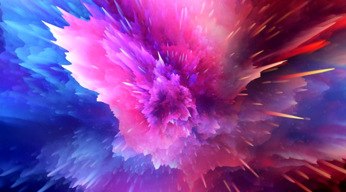 Abstract Splash Color Wallpaper Wallpapers Ultra