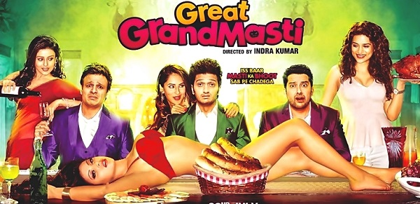 [Great Grand Masti] Bollywood movie first day 1st day BO collections