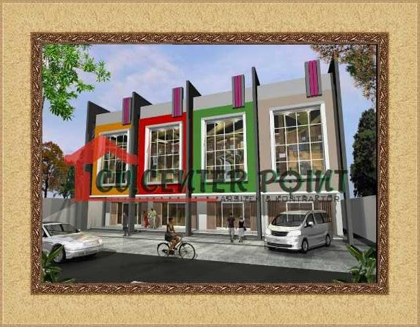 Jasa Gambar Ruko Di Kupang Fasade Ruko Toko Rukan Minimalis Modern 2